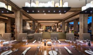 Dining Room - The Lodge Verbier. Ultimate luxury chalet in Verbier