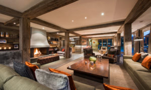 Living Room at The Lodge, Verbier