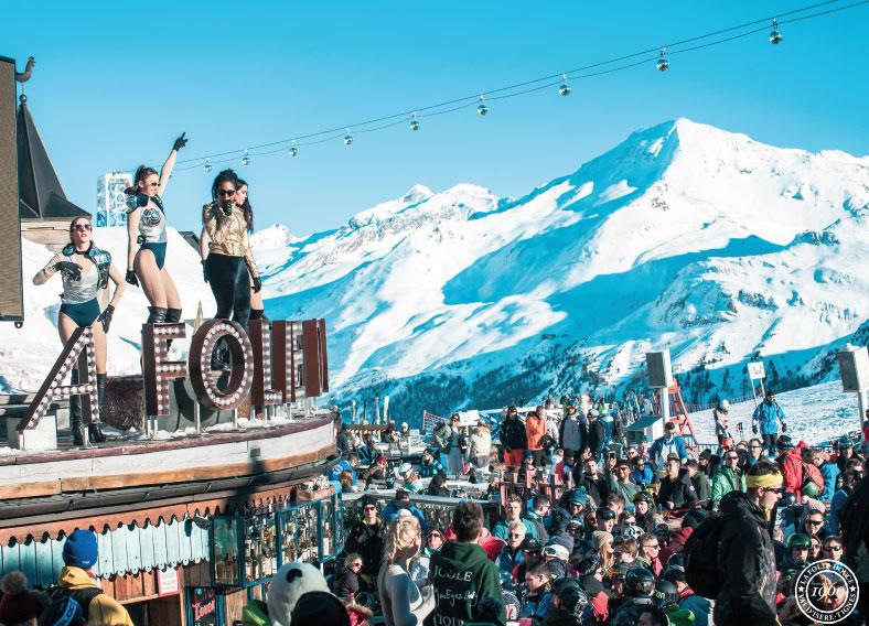 La Folie Douce in Val d'Isère