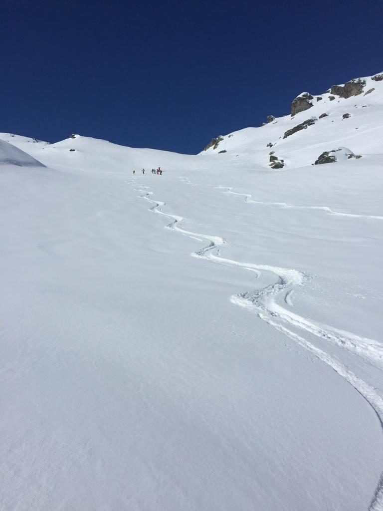 Looking forward to skiing this winter with Ski Tracks in Fresh Snow