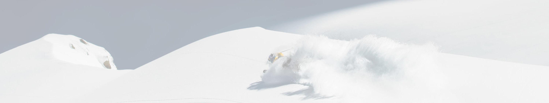 St Anton Skier in Snow