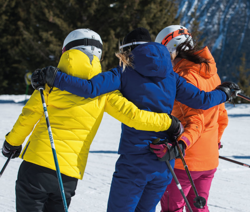 Girls Ski Holiday - Group of Skiers