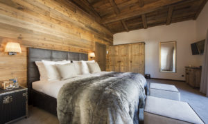 Chalet Zari Bedroom in Chalet Eden Rock in St Anton