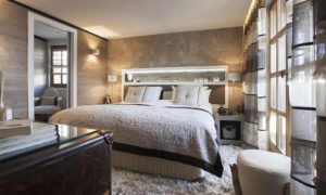 Chalet Colombe Bedroom - Luxury Ski Chalet in Courchevel 1850
