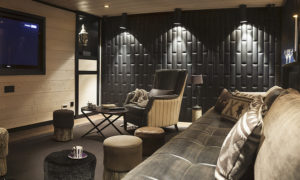 Chalet Colombe Cinema Room