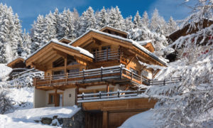 Chalet Rock Exterior - Luxury Ski Chalet in Verbier