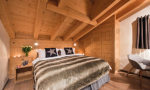 Chalet Rock Bedroom