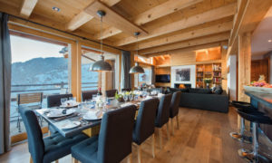 Chalet Rock Dining Room