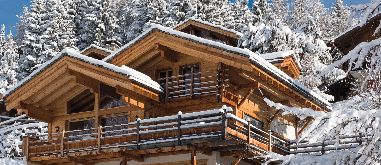 Chalet Rock Exterior - Verbier Luxury Ski Chalet