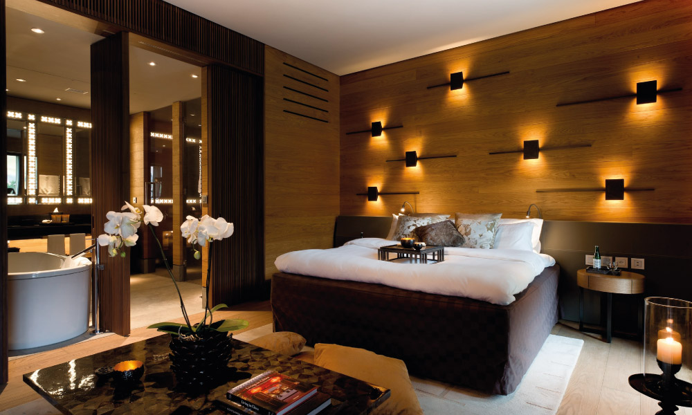 Chedi Andermatt Bedroom