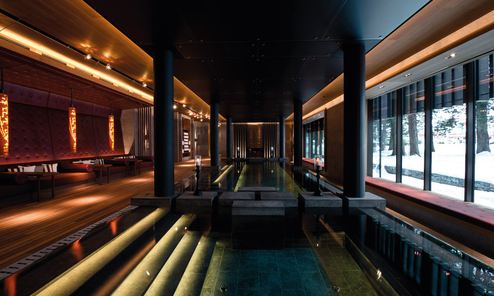 Chedi Andermatt Spa Area