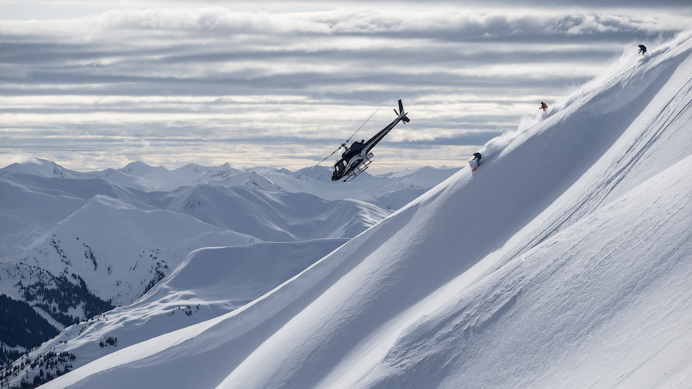 Heliskiing in British Columbia