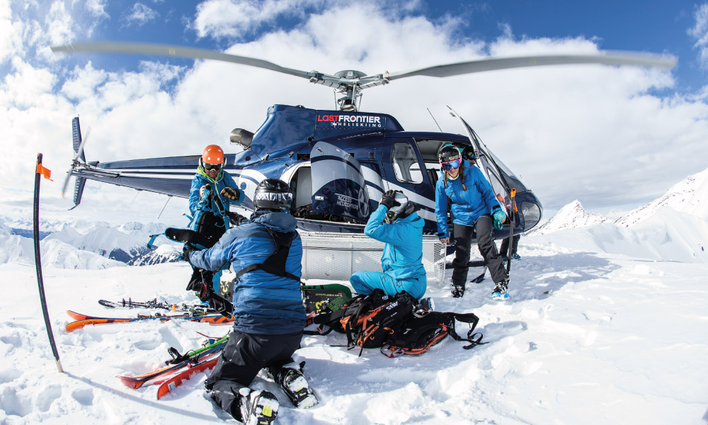 Last Frontier Heli-Ski - Heliskiers