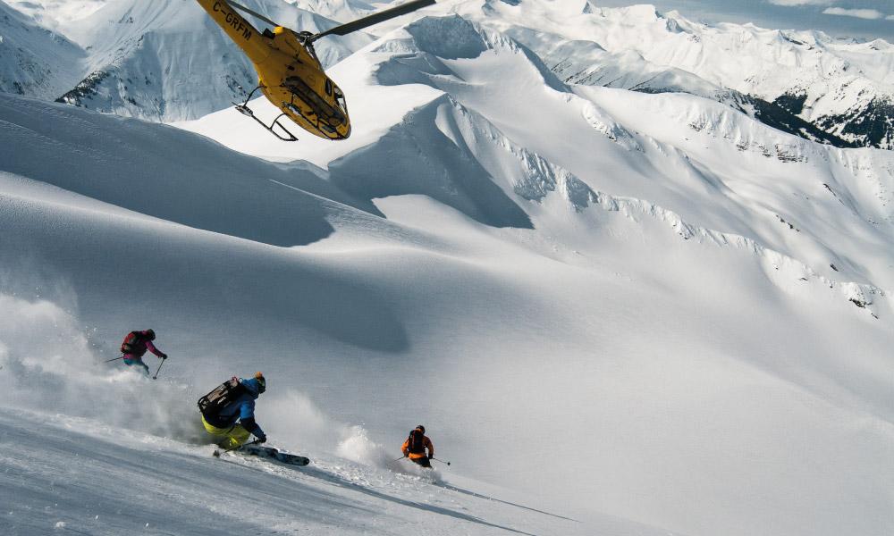 Last Frontier Heliskiing - Heliskiing in British Columbia