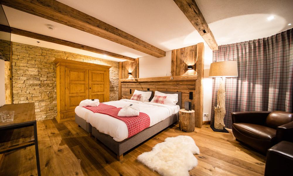 Bedroom at Montfort Lodge