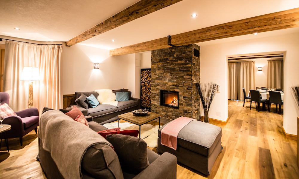 Second living room at Montfort Lodge