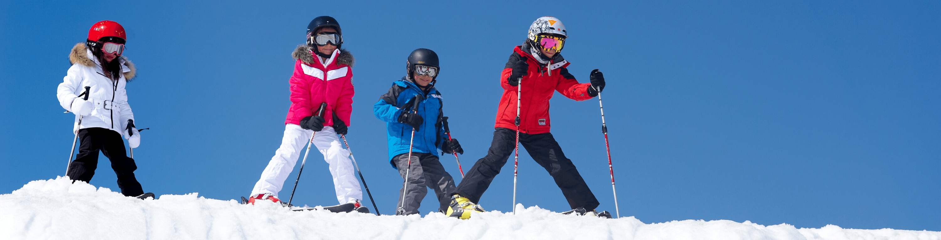 Children Skiing - Alpine Angels Blog Header