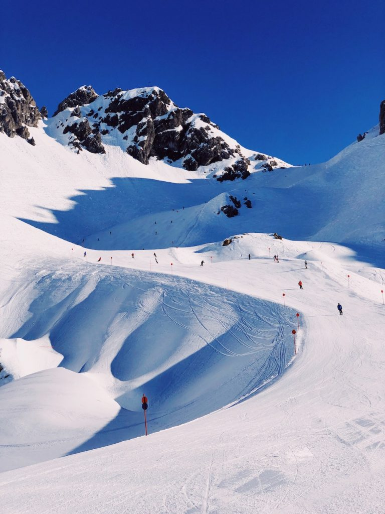 St Anton skiing this winter