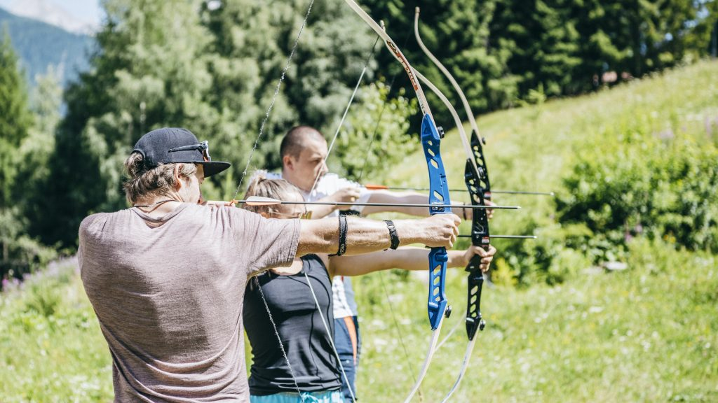 Summer activity of archery