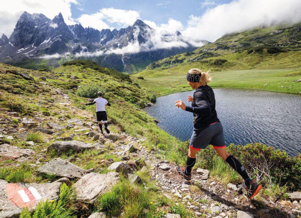 Running in Alps - summer fitness retreat